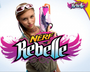 nerf pour fille rebelle