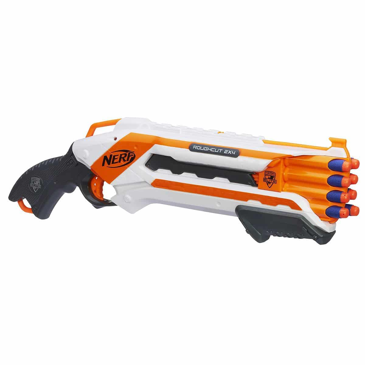 Nerf Elite Rough Cut Blanc