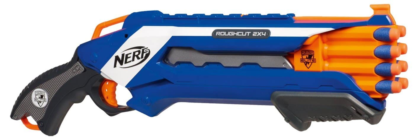 Nerf Elite Rough Cut Bleu