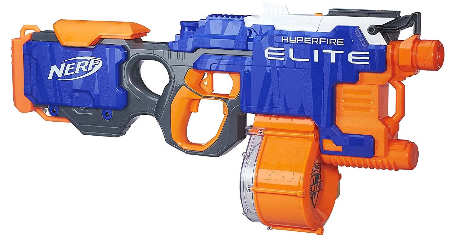 test nerf hyperfire pas cher o acheter le nerf elite hyperfire. Black Bedroom Furniture Sets. Home Design Ideas