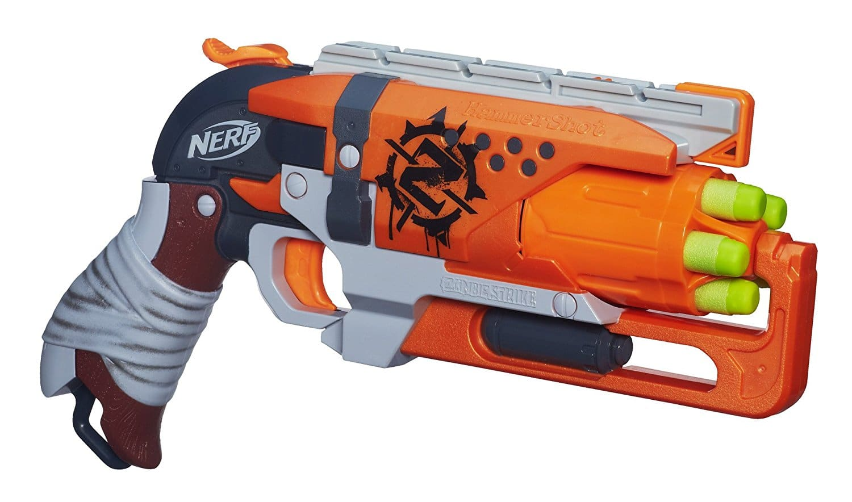 test nerf zombie strike hammershot