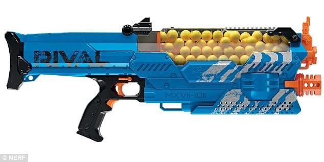Nerf Rival Nemesis MXII-10K Bleu