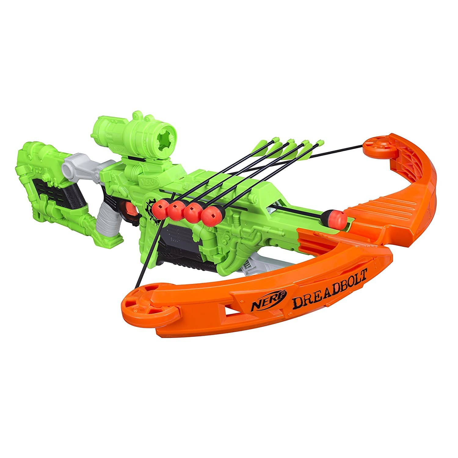 test nerf zombie strike dreadbolt