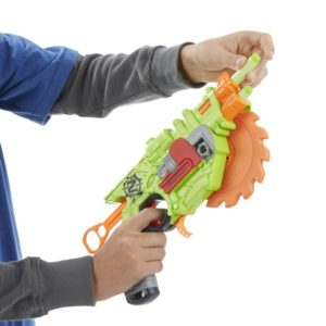 Test Nerf Zombie Strike Crosscut