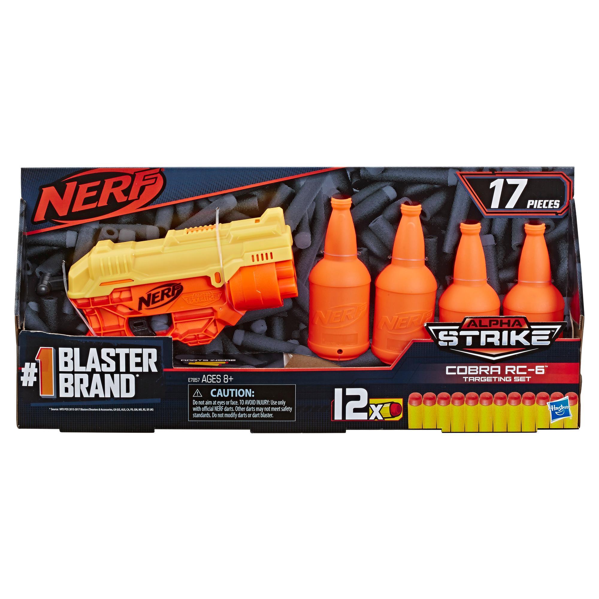 Nerf Alpha Strike Pack de bataille