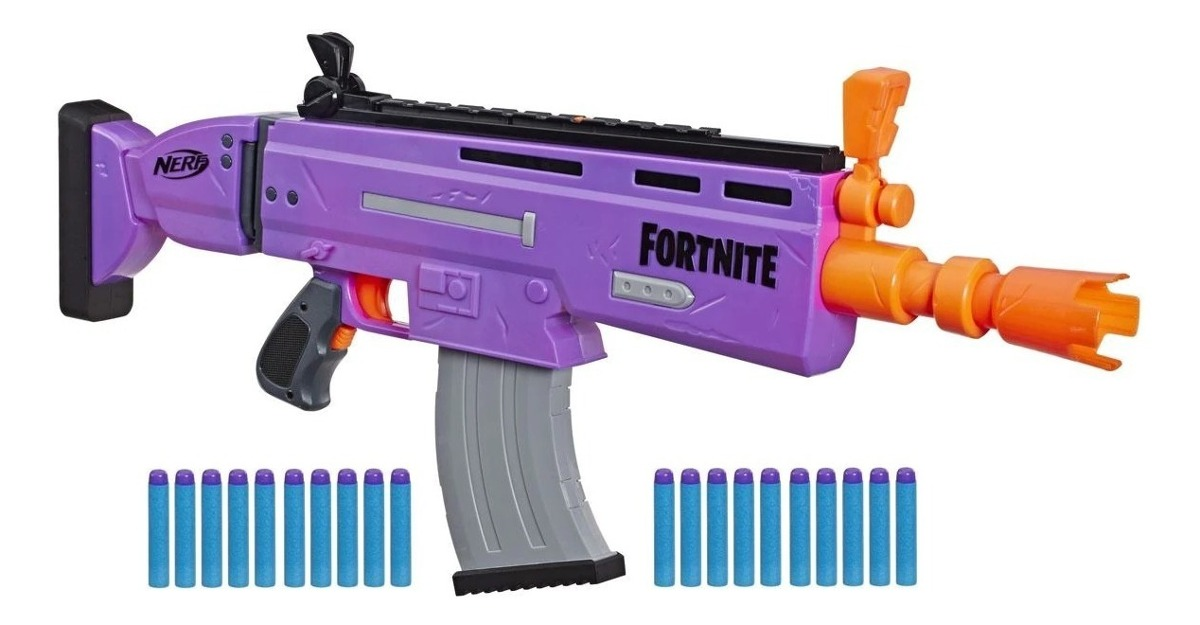 Nerf Fortnite scar violet